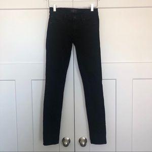 Agolde Colette Black Skinny Jeans